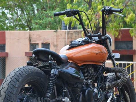 modified bajaj avenger 220 by ornithopter moto design drivespark