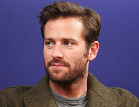 Armie Hammer Speaks Out Against Horrifying Cannibal ...