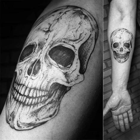Skull Forearm Tattoo  Best Tattoo Ideas Gallery