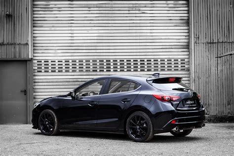 Mazda 3 Hatchback Wallpaper by Mazda3 Quot Black Limited Quot Bm 2015