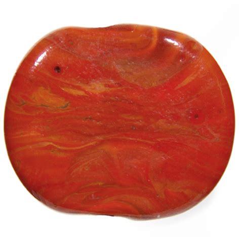 frantz glass orange rock 5 6mm cool color effetre glass rod