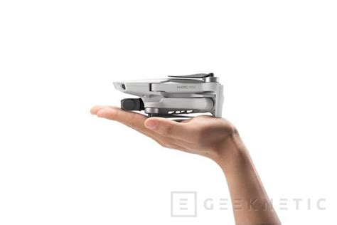 el dron plegable dji mavic mini llega   gramos