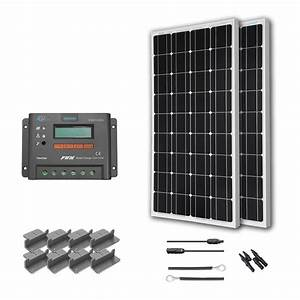 Shop Renogy 200 Watts 12 Volts Monocrystalline Solar Rv
