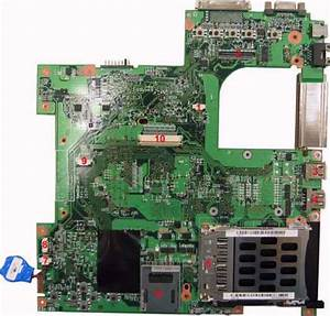 Mainboard Layout Top View