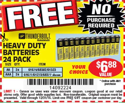 harbor freight heat l yes get free batteries at harbor freight thrifty momma