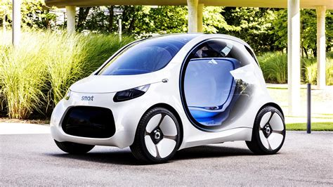 Smart : Car Sharing Gets Smart With New Vision Eq Fortwo Concept