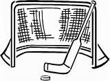 Hockey Coloring Stick Puck Goal Pages Drawing Template Rangers Sketch Netart Gigglebellies Getdrawings sketch template