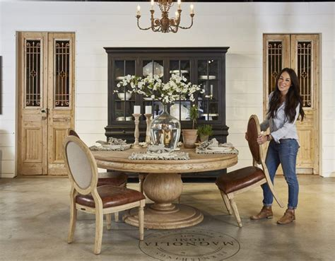 joanna gaines kitchen table ideas the of a furniture showroom fixer joanna
