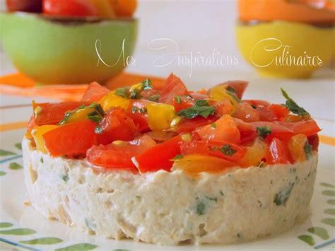 recettes de cuisine rapide tartare de tomates aux rillettes de thon le cuisine