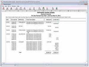 Sage General Ledger Accounting