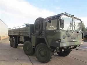 MAN 464 8x8 Drop Side Cargo Truck side loader ex military ...