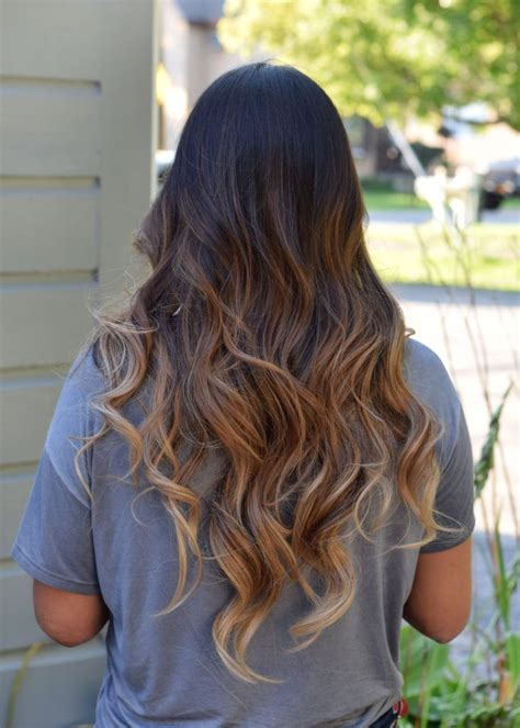 Hairstyles With Tips by Caramel Ombre Fall 2016 Trend Cherry Blossom