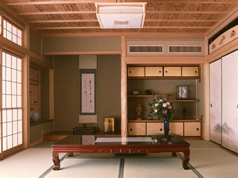 japanese style house interior   create  balanced