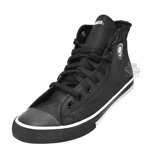 93341 harley davidson 174 mens baxter with white willie g skull black casual shoe