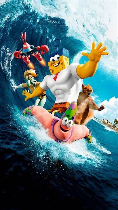 Spongebob Sponge Water Film Squarepants Poster Tv