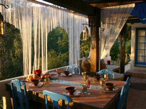 outdoor curtains block wind the interior design