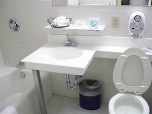 Small bathroom picture of best western plus robert treat for Best bathroom suites reviews