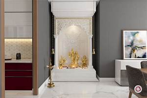 Pooja Room In Living Area Conceptstructuresllc com