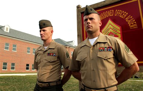 sergeants  equips marines  lead  changing