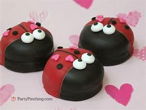 love bug ladybug marshmallow cookie cute easy dessert ...