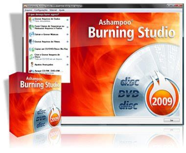 ashampoo burning studio 2009 baixar serial gratis