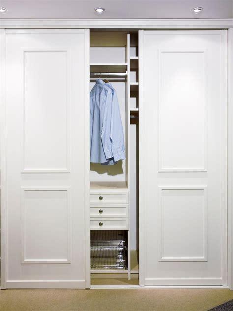 closet organization ideas  sliding closet doors