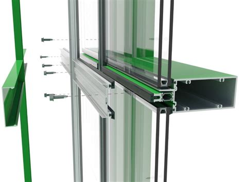 curtain wall systems thermal efficiency in glazed curtain wall systems page 2