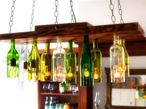 wine bottle chandelier how to make a chandelier from wine bottles how tos diy
