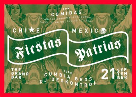 ¡Fiestas Patrias! Chile & Mexico by Kieran Stowers, via ...