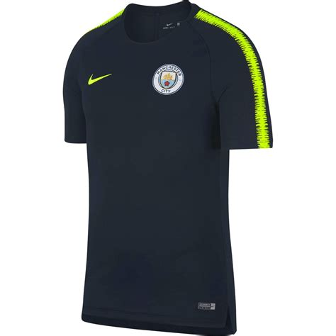 nike manchester city maillot entrainement marine