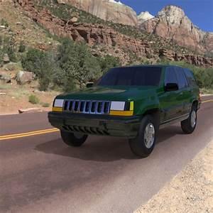 Jeep Grand Cherokee 94 3d Model Obj