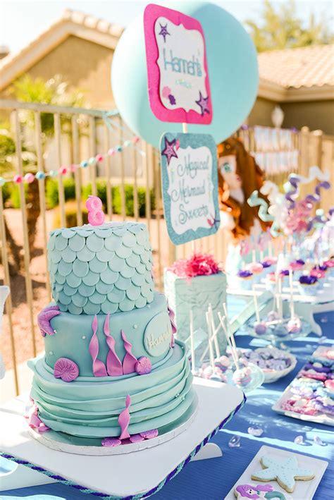 Mermaid Swim Birthday Party  Lillian Hope Designs
