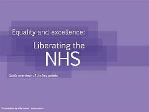 nhs white paper equality excellence authorstream With nhs powerpoint template