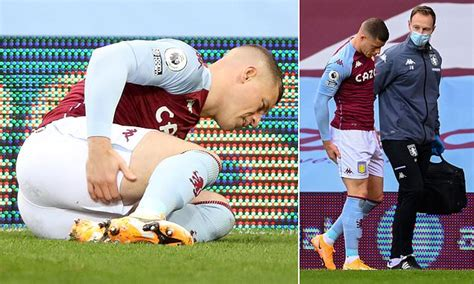 Aston Villa midfielder Ross Barkley forced off with just ...