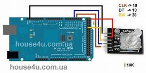 Rotary Encoder Arduino Wiring
