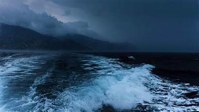 Ocean 4k Sea Night Waves Shore 5k