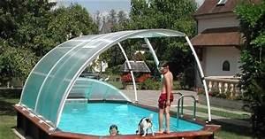 Fabriquer Un Abri De Piscine : article les abris pour piscine hors sol un atout confort ~ Zukunftsfamilie.com Idées de Décoration