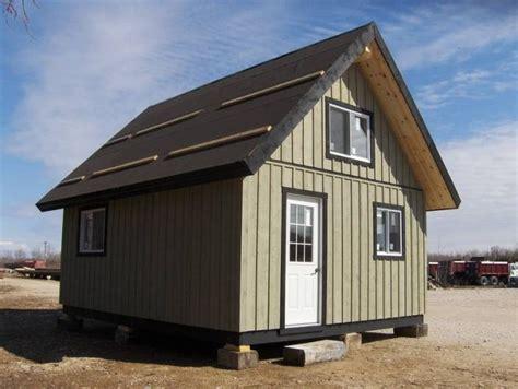 16 X 20 Prefab Bunkie Cabin Cottage