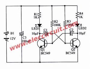 simple inverter circuit using 6 transistor With two transistor lamp flasher circuit diagram