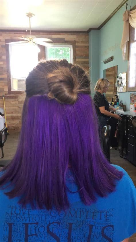 bottom  purple hair hair color  hair