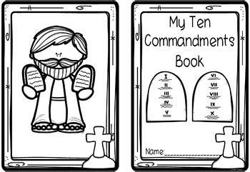 Thou shalt not make unto thee any graven image, or any likeness of. Ten (10) Commandments Mini Books (Catholic, Protestant & Modern Versions)