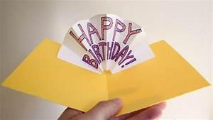 Pop Up Karte Basteln Geburtstag : geburtstagskarten basteln 30 tolle ideen mit anleitung zum nachmachen ~ Frokenaadalensverden.com Haus und Dekorationen