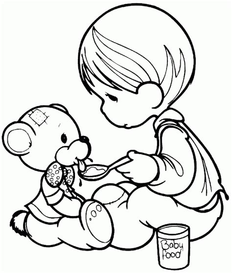 precious moments coloring pages  print