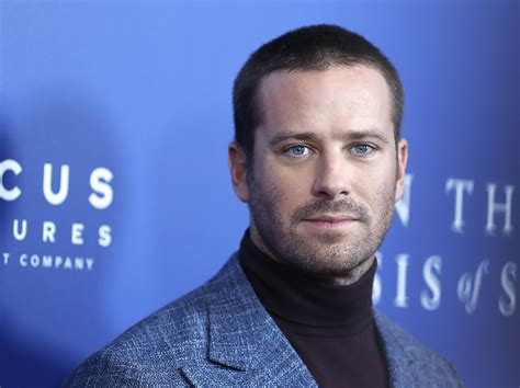 Armie Hammer Once Got Arrested for Possession: 'I Knew at ...
