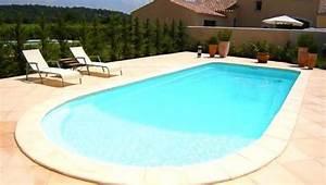 dalles de beton ou pave uni autour dune piscine With beton autour d une piscine