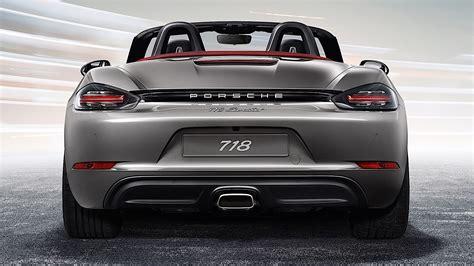 Porsche 718 Boxster (982) Specs  2016, 2017, 2018