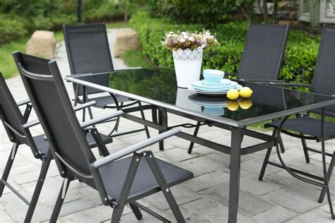chaise jardin aluminium awesome table de jardin aluminium et chaise photos