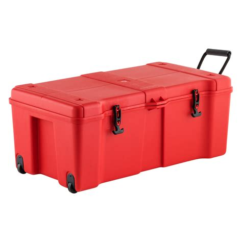 Red Ultra Storage Locker With Wheels  The Container Store