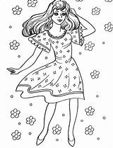 Coloring Pretty Popular sketch template