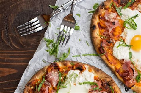 Morgunverðarpizza fyrir meistara